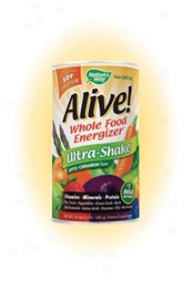Nature's Determined course - A1ive! Ultra-shake - Apple & Cinnamon 1.3 Lb