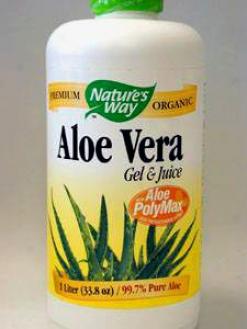 Nature's Way - Aloe Vera Gel & Juice 1 Ltr