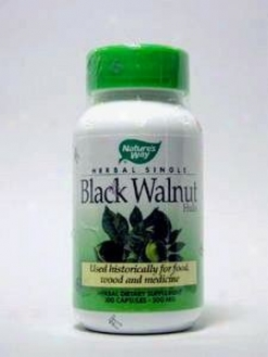 Nature's Way - Black Walnut Hulls 500 Mg 100 Caps