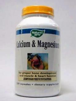 Nature's Scheme - Calcium Magnesium 250 Caps