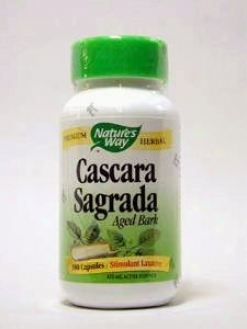 Nature's Way - Cascara Sagrada 425 Mg 100 Caps
