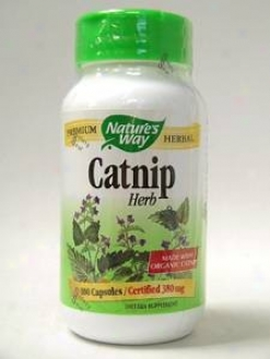 Natur'es Way - Catnip 380 Mg 100 Caps