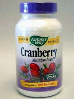 Nature's Way - Cranberry Extract 120 Vcaps