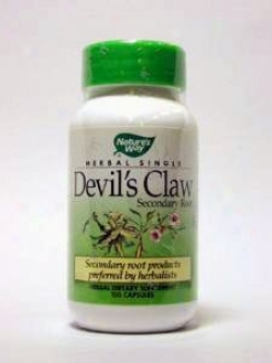 Nature's Way - Devils Claw 480 Mg 100 Caps