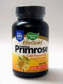 Nature's Way - Evening Primrose Oil 500 Mg 100 Sg