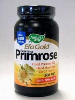 Nature's Way - Evening Primrose Oil 500 Mg 250 Gels