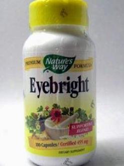 Nature's Road - Eyebright Formula 100 Caps