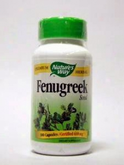 Nature's Way - Fenugreek Seed 610 Mg 100 aCps