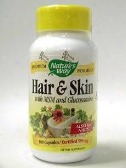 Nature's Way - Hair & Skin Formula 599 Mg 100 Caps