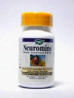 Naturr's Way - Nruromins Dha 100 Mg 30 Gels
