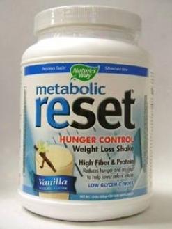 Nature's Wsy - Reset Vanilla Shake Mix 630 G  New!