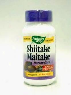 Nature's Way - Shiitake/maitake Extract 60 Caps