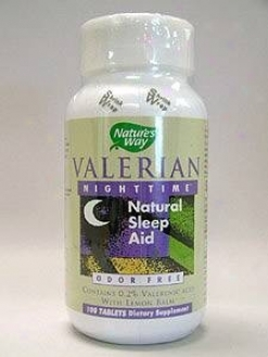 Nature's Way - Valerian Nighttime?natural Sleep Aid 100 Tabs