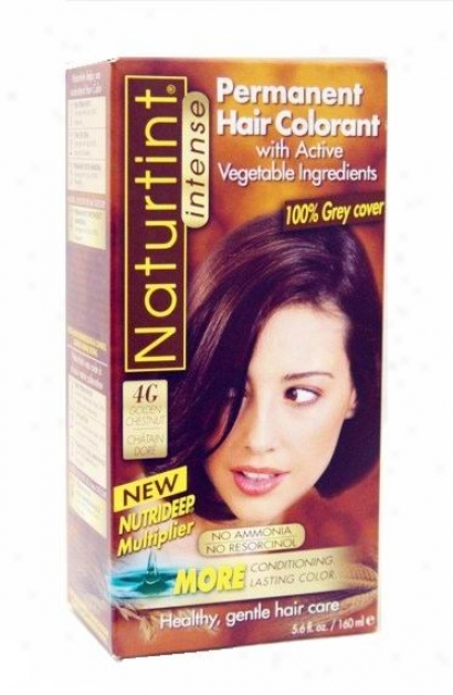 Naturtint'ss Permanent Hair Colorant, Golden Chestnut 4g Box 4.5oz