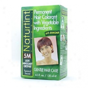 Naturtint's Lasting Hair Colorant, Light Mzhogany Chestnut 5m Box 4.5oz