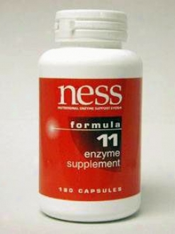 Ness Enzyme's Natural C W/bioflavonoids #11 180 Caps