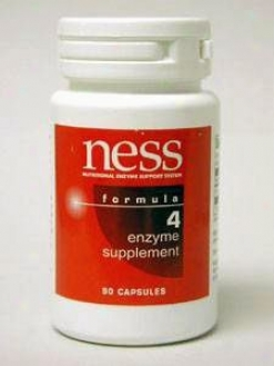 Ness Enzyme's Protease #4 90 Caps