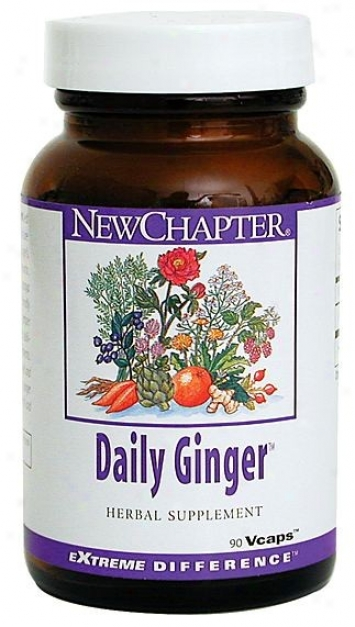 New Chapter's Daily Ginger 90vcaps