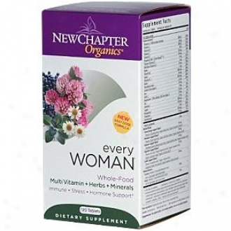New Chapter's Every Woman 120tabs