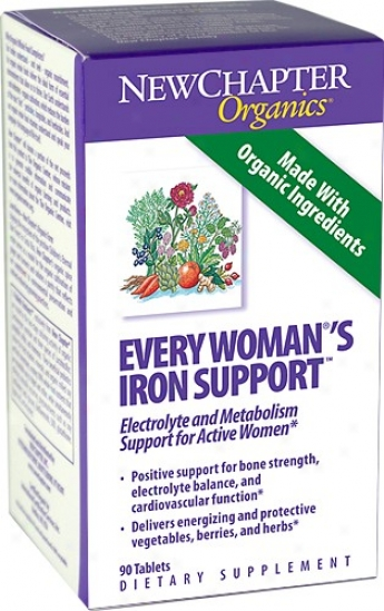 New Chapter's Every Woman Iron Support 60tabs