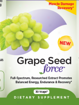Repaired Chapter's Grape Seed Force 30 Vcaps