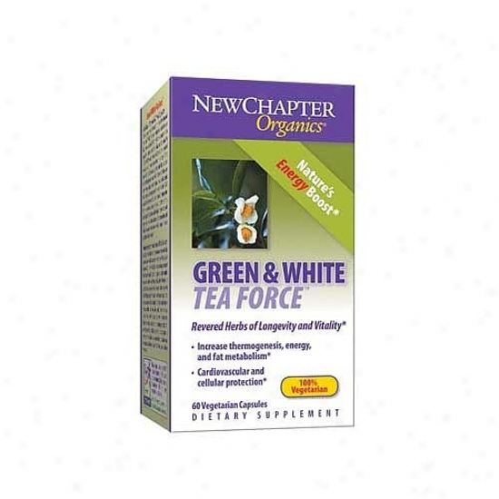 New Chapter's Green & White Tea Force 60cvap
