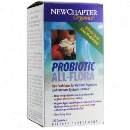 New Chapter's Probiotic All Flora 120caps