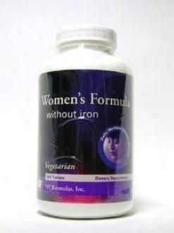 Nf Formula's Inc Women's Formula W/o Iron Vegetarian Form 180 Tabs