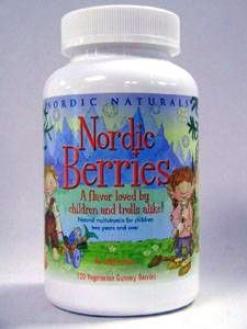 Nordiac Natural's Nordic Berries 120 Chews
