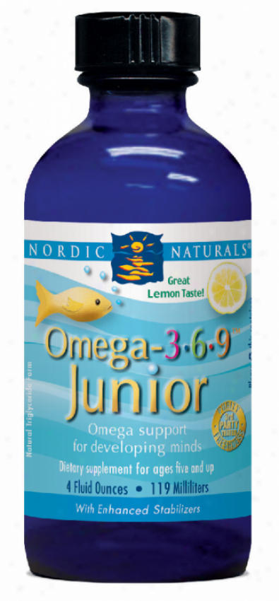 Nordic Naturals Omega 3.6.9 Junior Lemon 4oz