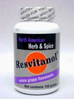 North American Herb & Spice Resvitanol Powder 120 Gms