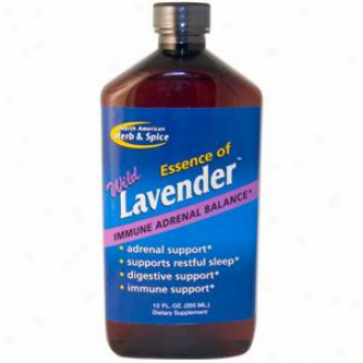 North American H&s's Essence Of Wild Lavender 12oz