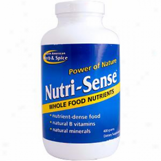 North American H&s's Nutri-sense 400gm