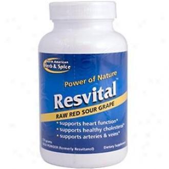 North American H&s's Resvital Powder 120gm