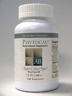 North American Pharmacal's Phytocal Mineral Formula Type Ab 120 Vcaps