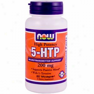 Now Foods 5-htp 200 Mg 60 Vcaps