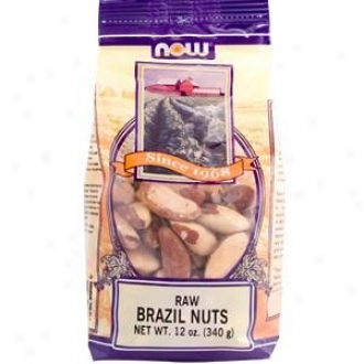 Now Foods Brazilian Nuts Raw 12oz