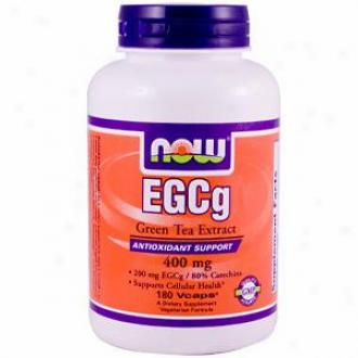 Now Foods Egcg Green Tea Extract - 180 Vcaps