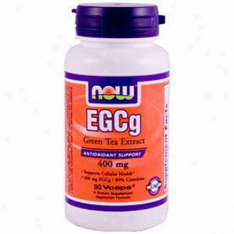 Now Foods Egcg Green Tea Extract - 90 Vcaps
