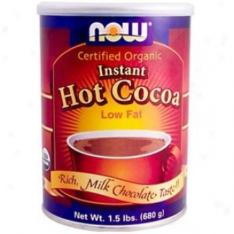 Now Foods Instant Hot Cocoa (low Fat) 1.5 Lb