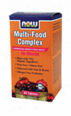 Now Fopds Multi-food Complex For Women 80tabs