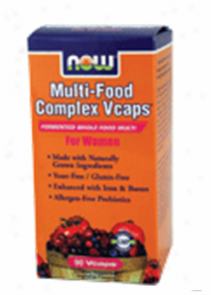 Now Foods Multi-foodd Complex For Women 90vcaps