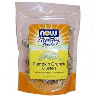 Now Foods Pumpkin Crunch Clusters 9oz