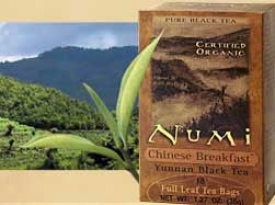 Numi Tea's Black Tea Organic Chinese Breakfast 18bags