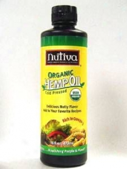 Nutiva's Hemp Oil 16 Oz