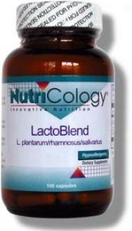 Nutricology's Lactoblend 100vcaps
