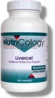 Nutricology's Livercel 180caps