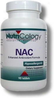 Nutricology's Nac Enhanced Antioxidant Formula 90tabs