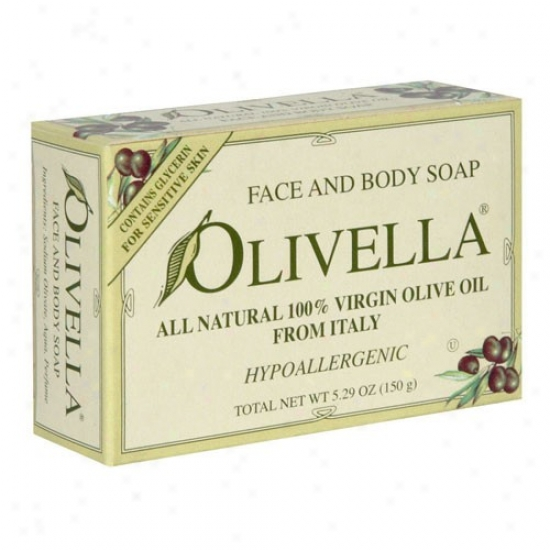 Olivella's Bar Soap W/fragrance 5.29oz