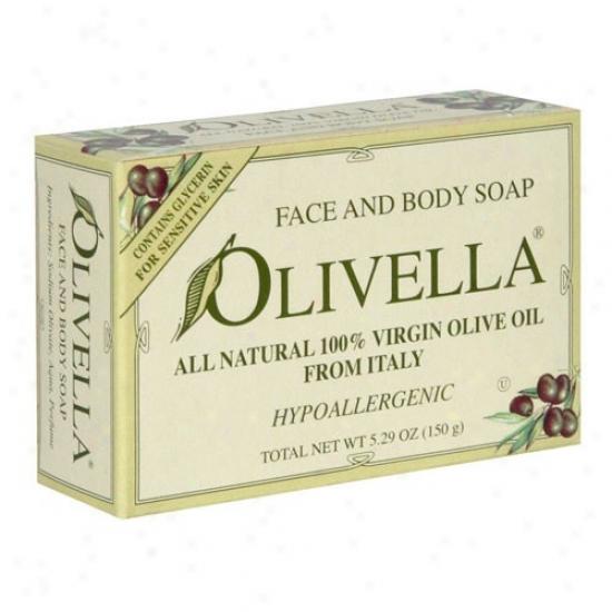 Olivella's Bar Soap W/fragrance 5.29oz